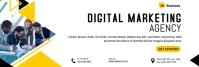 Digital Marketing Agency Banner template