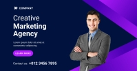 Digital Marketing Agency Banner Template Facebook 共享图片