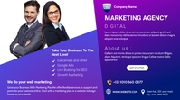 Digital Marketing Agency Digitalanzeige (16:9) template