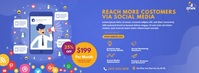 Digital Marketing Agency Couverture Facebook template