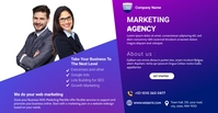Digital Marketing Agency Facebook Event Cover template