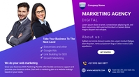 Digital Marketing Agency Miniatura de YouTube template
