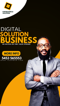 Digital marketing agency เรื่องราวบน Instagram template