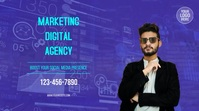 Digital Marketing Agency Display digitale (16:9) template
