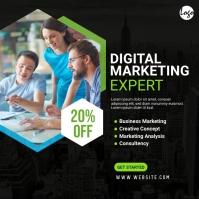 Digital Marketing Agency Post Instagram-Beitrag template