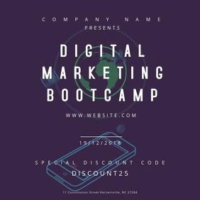 Digital Marketing Bootcamp Motion Poster