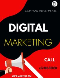 digital marketing Folheto (US Letter) template