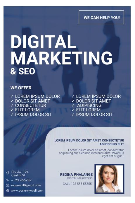 Digital Marketing Flyer Template