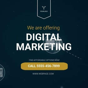 Digital Marketing Instagram Video Ad Template