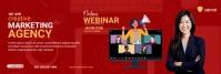Digital marketing LinkedIn Banner template