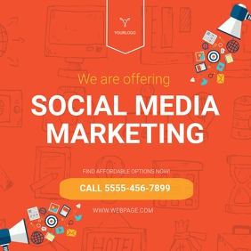 Digital Marketing Social Media Post Template