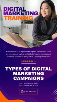Digital Marketing Training IGTV