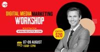 Digital Marketing Workshop Рекламное объявление Facebook template