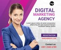 Digital Marketing Workshop medium Rectangle P Rectángulo Mediano template