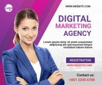 Digital Marketing Workshop Post Grote rechthoek template
