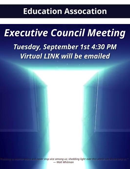 Digital Meeting Time Invite Template Folder (US Letter)