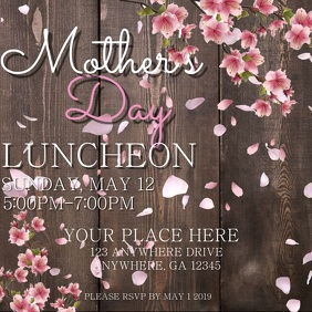 Digital Mother's Day Flyer