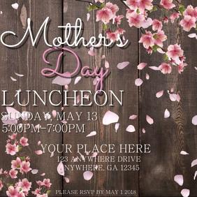 Digital Mother's Day Flyer