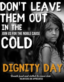 Dignity day flyers,Charity flyers