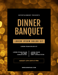 Dinner Banquet Flyer Template