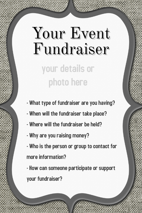 how to create a fundraiser event