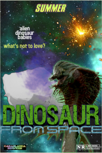 dinosaur from space
