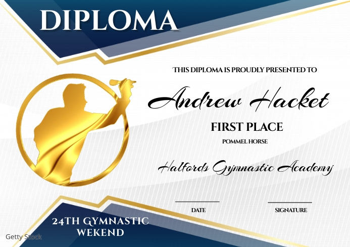Diploma Template   PosterMyWall