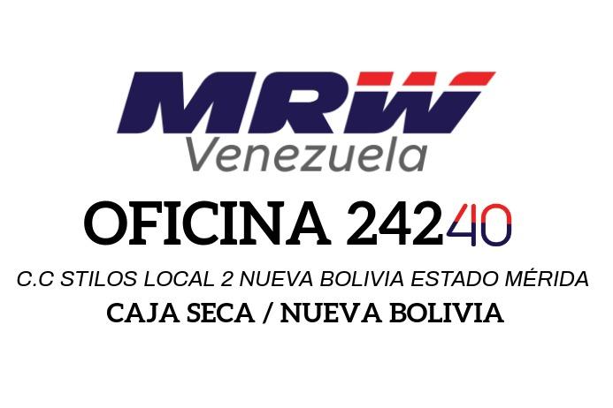 Dirección MRW 2 Label template