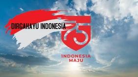 Dirgahayu Indonesia Видеообложка профиля Facebook (16:9) template
