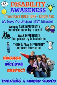 Disability Awareness Poster Template