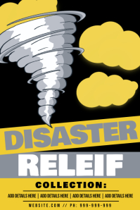 Disaster Releif Poster