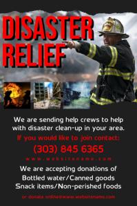 Disaster Relief Flyer