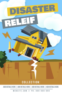 Disaster Relief Poster