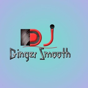 Disc Jockey Logo with music