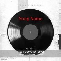 disc Trap Mixtape Cover video Template Okładka albumu