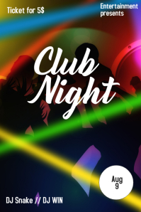 Disco night event
