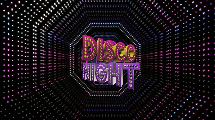 disco Party video Background
