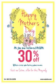 Discount for Mother's Day
