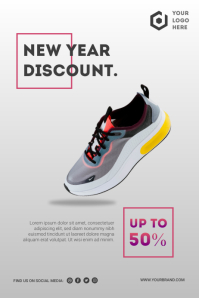 Discount Poster Flyer template