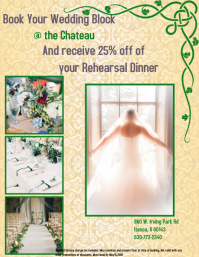 Discount Wedding Flyer