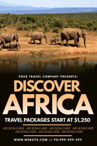 Discover Africa Poster
