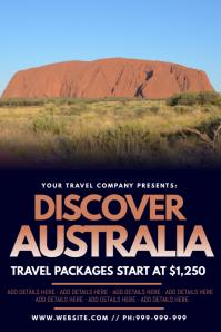Discover Australia Poster