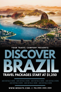 Discover Brazil Poster