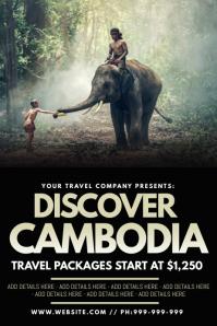 Discover Cambodia Poster