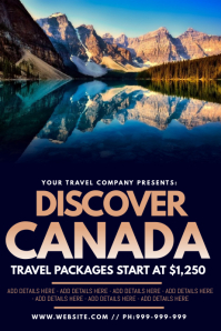 Discover Canada Poster