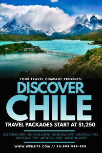 Discover Chile Poster