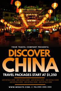 Discover China Poster
