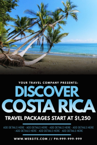 Discover Costa Rica Poster