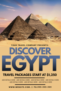 Discover Egypt Poster