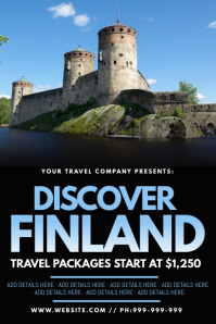 Discover Finland Poster